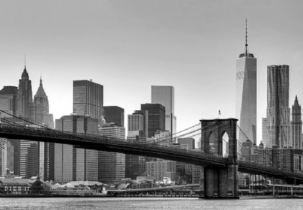 New York City Balck and white photo wall